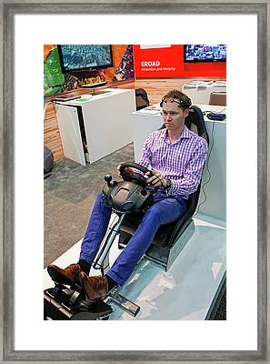Intelligent Transport Exhibition Framed Print by Jim West