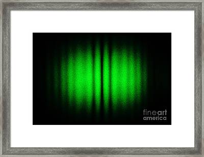 Interference Between Two Laser Beams Framed Print by GIPhotoStock