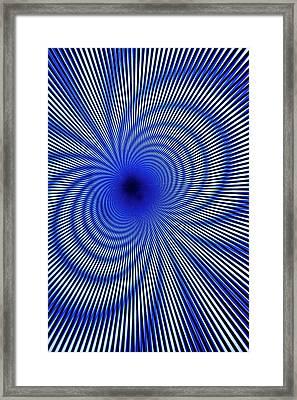 Interference Fringes Framed Print