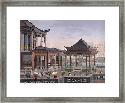 Interior Of A House Framed Print by British Library