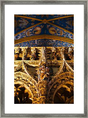 Interiors Of Cathedrale Sainte-cecile Framed Print by Panoramic Images