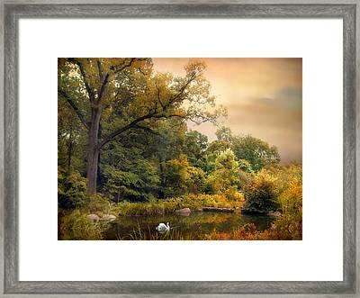 Intimate Autumn Framed Print by Jessica Jenney