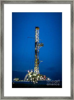 Into The Blue Framed Print by Jim McCain