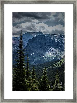 Into The Clouds Framed Print by Jim McCain