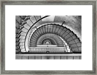 Framed Print featuring the photograph Into The Light by Howard Salmon