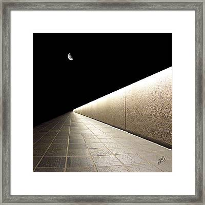 Into The Night I Framed Print by Ben and Raisa Gertsberg