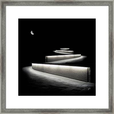 Into The Night II Framed Print by Ben and Raisa Gertsberg