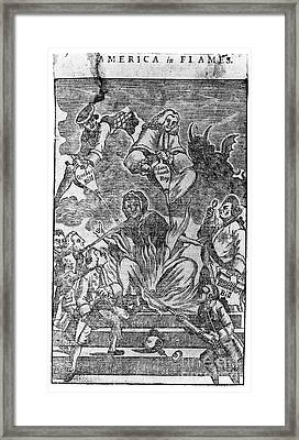 Intolerable Acts 1774 Framed Print by Granger