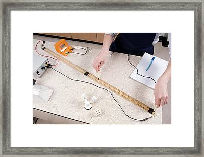 Investigating Resistance Of Wire Framed Print