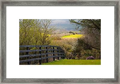 Irish Countryside In Spring Framed Print