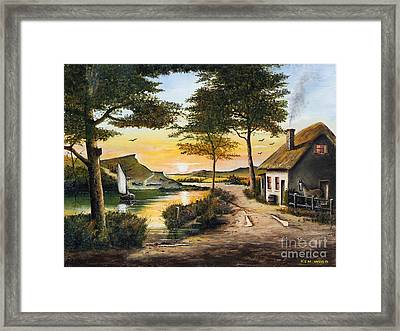 Irish Retreat Framed Print