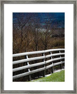 Irish Winter Framed Print