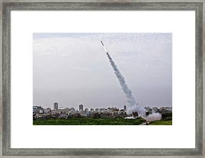 Iron Dome Framed Print