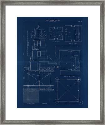 Iron Lighthouse Framed Print
