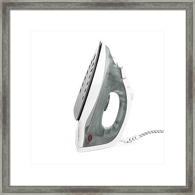 Iron Framed Print by Science Photo Library