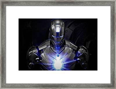 Ironman Mkii Framed Print by Suradej Chuephanich