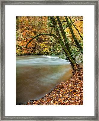Irrel Falls Framed Print