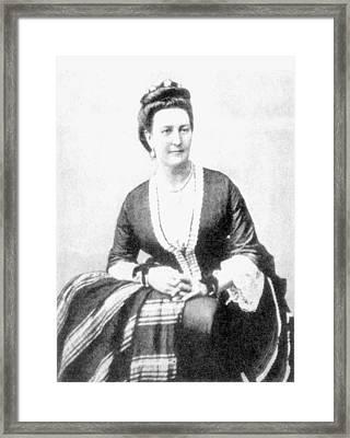 Isabel Burton (1831-1896) Framed Print