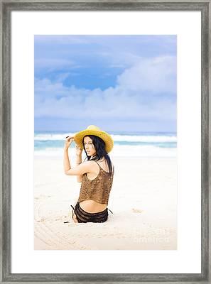 Island Adventures Framed Print