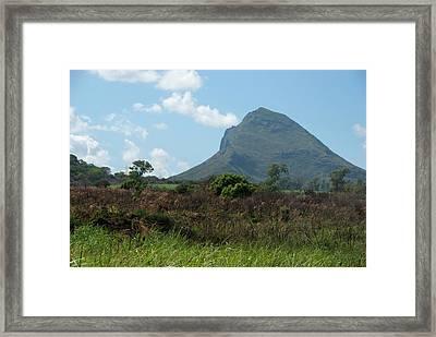 Island Of Mauritius Framed Print