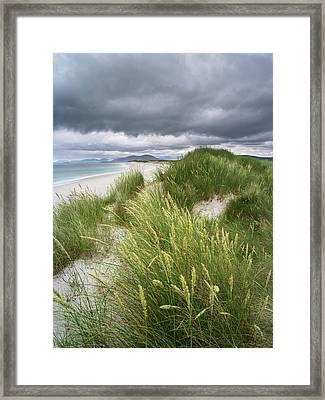 Isle Of Berneray (bearnaraidh Framed Print