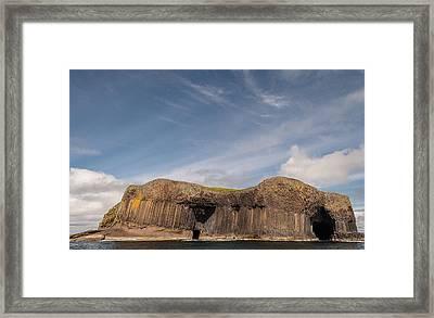 Isle Of Staffa Framed Print by Sergey Simanovsky