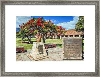 Framed Print featuring the photograph Israel Kamakawiwoole - Bruddah Iz by Aloha Art