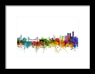 Istanbul Framed Prints
