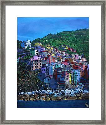 Italia Framed Print