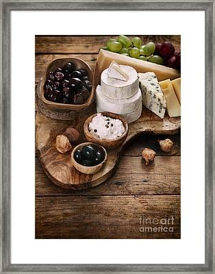 Italian Cooking Framed Print