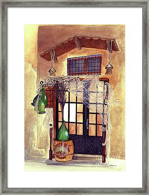 Italian Deli Framed Print