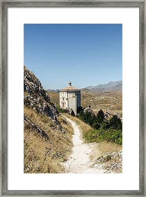 Italian Monuments - In That Quiet Earth Framed Print by Andrea Mazzocchetti