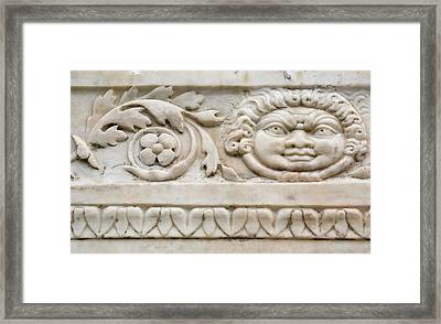 Italy, Campania, Herculaneum Framed Print