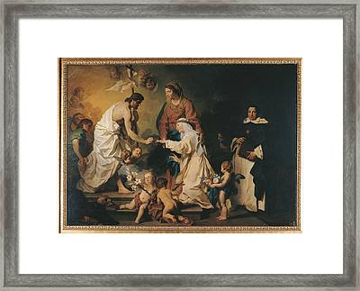 Italy, Lazio, Rome, Private Collection Framed Print by Everett