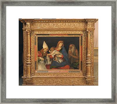 Italy, Lazio,rome, Borghese Gallery Framed Print by Everett
