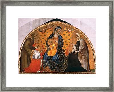 Italy, Veneto, Venice, Santa Maria Framed Print