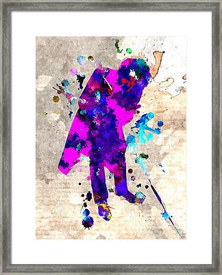 J Oker  Framed Print by Daniel Janda