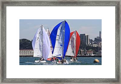 J70s San Francisco Framed Print
