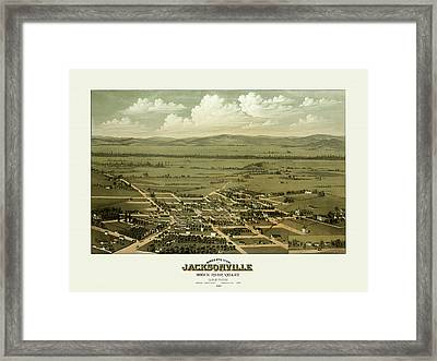 Jacksonville Oregon Framed Print by Gary Grayson