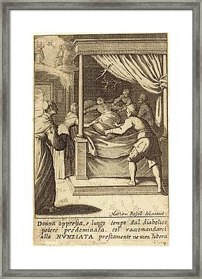 Jacques Callot After Matteo Rosselli, French 1592-1635 Framed Print by Litz Collection