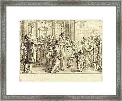 Jacques Callot French, 1592 - 1635, Grand Duchess Framed Print