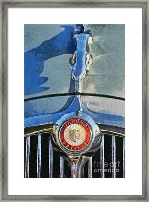 1966 Jaguar 3.8 S Type Framed Print