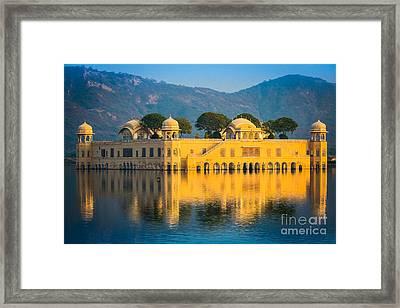 Jal Mahal Framed Print
