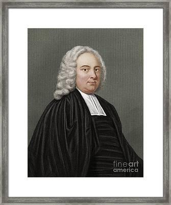 James Bradley, British Astronomer Framed Print