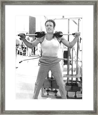 James Caan Framed Print by Silver Screen