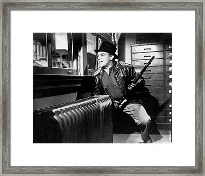 James Cagney Framed Print by Silver Screen