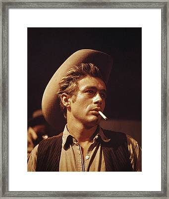 James Dean Framed Print by Retro Images Archive