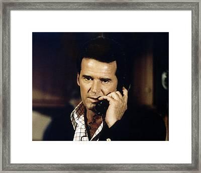 James Garner In The Rockford Files  Framed Print