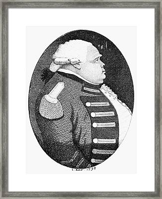James Grant (1720-1806) Framed Print