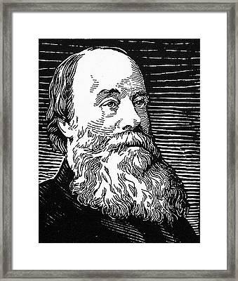 James Prescott Joule (1818-1889) Framed Print